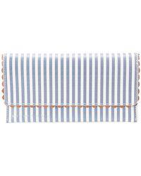 Loeffler Randall - Striped Wallet - Lyst