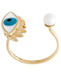 Delfina Delettrez - 'eye Piercing' Ring - Lyst