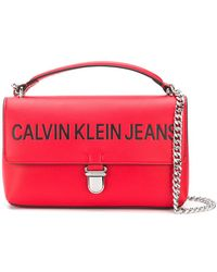 Calvin Klein Jeans - Sculpted Flap Shoulder Bag - Lyst
