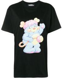 Jeremy Scott - Bear Print T-shirt - Lyst