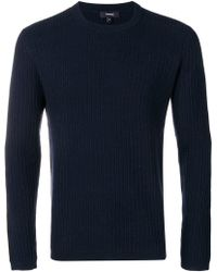 Theory - Ribbed Jumper - Lyst