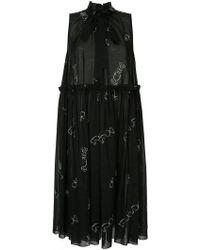 Karen Walker - Dead Draw Dress - Lyst
