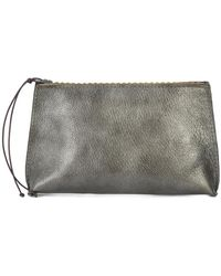 B May - Metallic Make Up Bag - Lyst