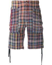 Missoni - Shorts mit Karomuster - Lyst