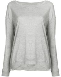 Majestic Filatures - Long Sleeve Sweatshirt - Lyst