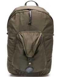 C P Company - Satin Backpack - Lyst