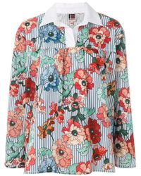 I'm Isola Marras - Floral Print Blouse - Lyst