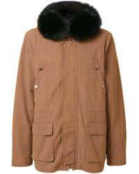 Yves Salomon - Padded Hooded Jacket - Lyst