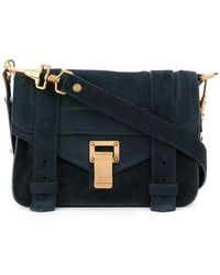 Proenza Schouler - Suede Ps1 Mini Crossbody - Lyst