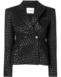 Dondup - Dotted Fitted Jacket - Lyst