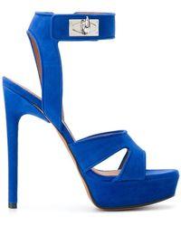 Givenchy - Shark Lock Sandals - Lyst