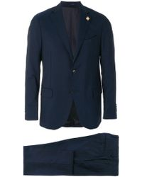 Lardini - Single Breasted Suit - Lyst