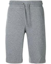 Emporio Armani - Drawstring Track Shorts - Lyst
