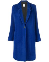 Forte Forte - Button Single-breasted Coat - Lyst