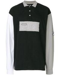 Liam Hodges - X Fila Logo Patch Polo Shirt - Lyst