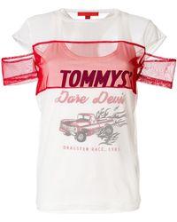 Tommy Hilfiger - Dare Devil Mesh T-shirt - Lyst
