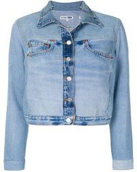 RE/DONE - Jean Pocket Denim Jacket - Lyst