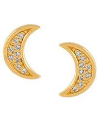 Astley Clarke - 'mini Moon Biography' Stud Earrings - Lyst
