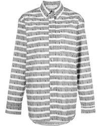 Proenza Schouler - Camicia a righe 'PSWL' - Lyst