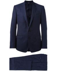 Dolce & Gabbana | Patterned Suit | Lyst