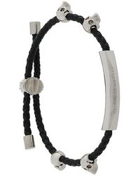 Alexander McQueen - Skull Friendship Bracelet - Lyst