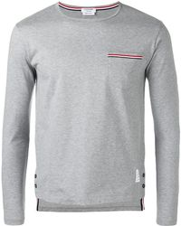 Thom Browne - Long-sleeved T-shirt - Lyst