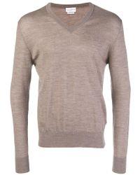 Ballantyne - V-neck Knitted Jumper - Lyst
