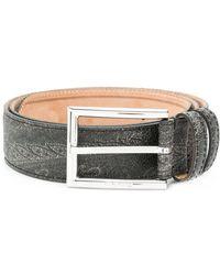 Etro - Paisley Print Belt - Lyst