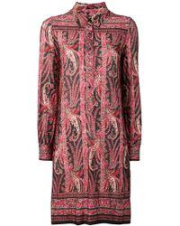 Isabel Marant - Paisley Pattern Shirt Dress - Lyst