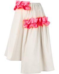 Paskal - 'ruffle Detail' Asymmetrical Skirt - Lyst