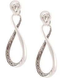 John Hardy - Asli Link Twist Earrings - Lyst