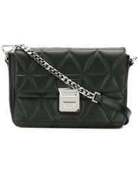 Lancaster - Quilted Crossbody Bag - Lyst