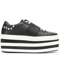 MOA - Striped Flatform Sneakers - Lyst