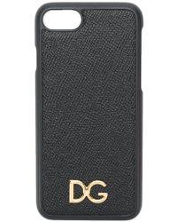 Dolce & Gabbana - Logo Iphone 8 Case - Lyst