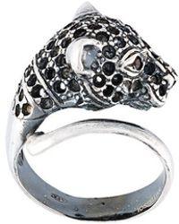 Iosselliani - 'silver Heritage' Cheetah Ring - Lyst