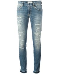 Faith Connexion | Distressed Skinny Jeans | Lyst