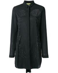 Versace Jeans - Embellished Shift Blouse - Lyst