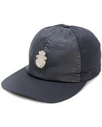 Billionaire - Panelled Logo Cap - Lyst