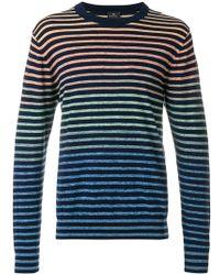 PS by Paul Smith - Striped Sweatshirt - Lyst