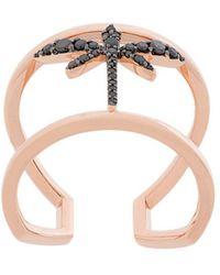 Anapsara - Mini Dragonfly Ring - Lyst