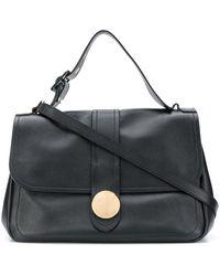 L'Autre Chose - Logo Plaque Shoulder Bag - Lyst