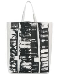 CALVIN KLEIN 205W39NYC - Cowboy Boots Tote Bag - Lyst