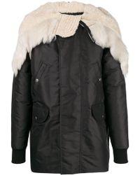 Rick Owens - Fur Hooded Jacket - Lyst
