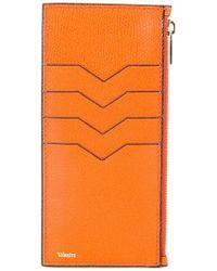 Valextra - Cardholder Zip Wallet - Lyst