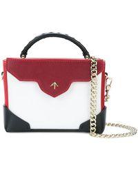 MANU Atelier - Foldover Colorblocked Bag - Lyst