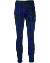 Just Cavalli - Repeat Logo Trousers - Lyst