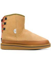 Suicoke - Rear Lace-up Boots - Lyst
