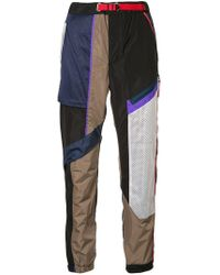 Kolor - Patchwork Track Trousers - Lyst