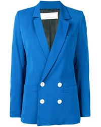 Societe Anonyme - Double Breasted Blazer - Lyst