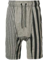Tom Rebl - Printed Drop-crotch Shorts - Lyst